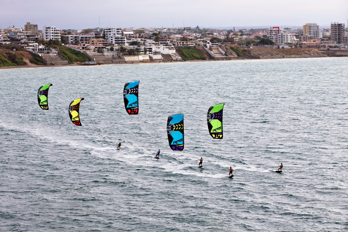 Slingshot RPM riders taking control of the bay