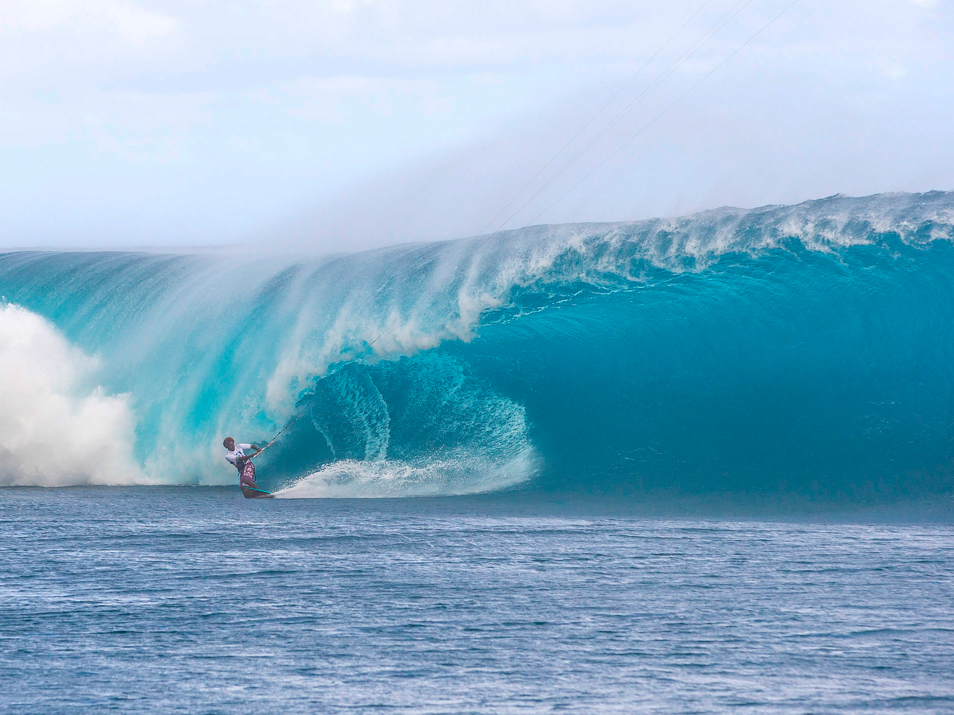 Teahupoo Wave Poster Wave Day Teahupoo Tuesday