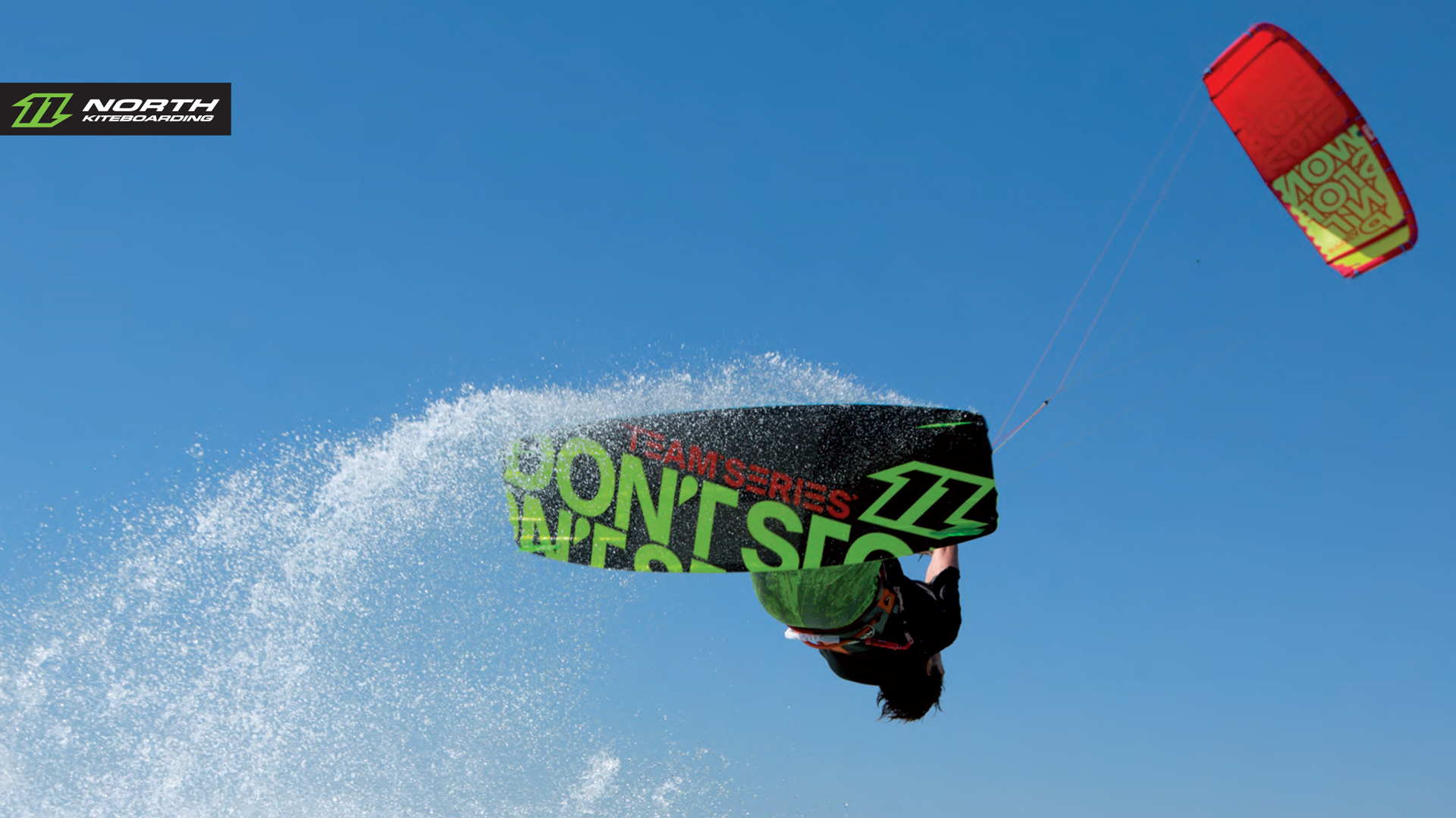 kitesurf wallpaper image - The 2015 North Vegas and team series board on holiday in the tropics - kitesurfing - in resolution: High Definition - HD 16:9 1920 X 1080