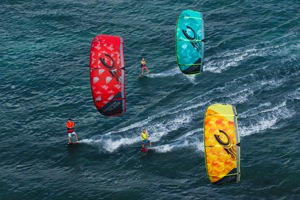 Cabrinha 2015 Switchblade cruising trio